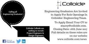 Graduate Engineer Jobs at Colloide