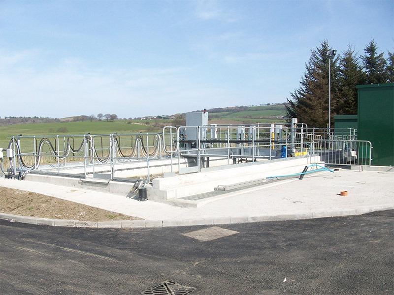 Bathgate Sewage Treatment Works  Sand Filters