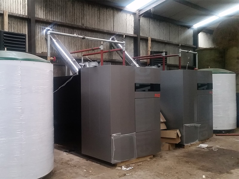 Biomass Heating – Agricultural Sector