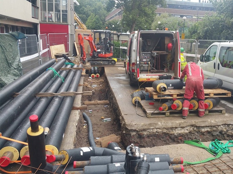 Bunhill District Heating Energy Centre