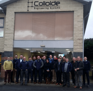 Colloide Develop Severn Trent's Standard Product