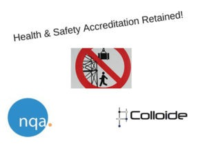 NQA Accreditation for Colloide