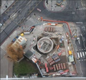 Bunhill Energy Centre - Foundations