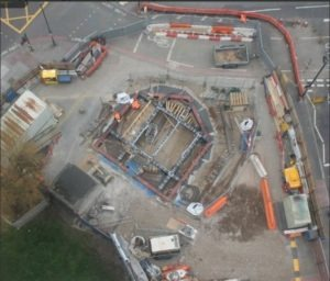 Bunhill Energy Centre - Vent Shaft works