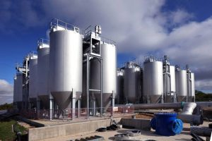 Colloide Deliver Europe'sChalton, Largest Nitrifying Sand Filter, sand filter, filtration systems, water treatment, colloide, colloide engineering systems, northern ireland, engineering, industrial water, municipal water