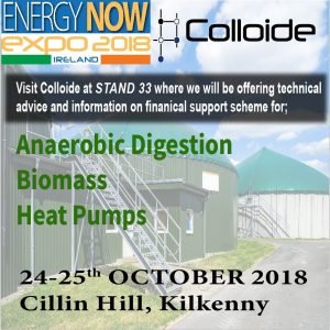 Energy Now Expo, anaerobic digestion, anaerobic digester, digestate, biogas, renewable, sustainable, energy, food waste, biomethane, colloide, colloide engineering systems, engineering, cookstown, northern ireland