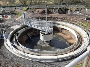 earlston, WwTW, water treatment, wastewater treatment, waste water, bridge scraper, colloide, colloide engineering, colloide engineering systems, cookstown, scottish water, esd water