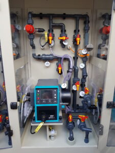 chemical dosing, plug and play, colloide, colloide engineering, cookstown, nothern ireland, engineering, water, waterwaste, water treatment